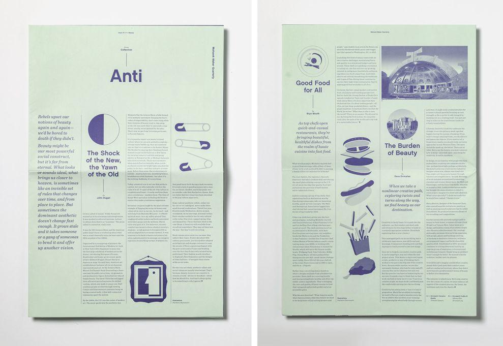 Mohawk Maker Quarterly Great Print Design