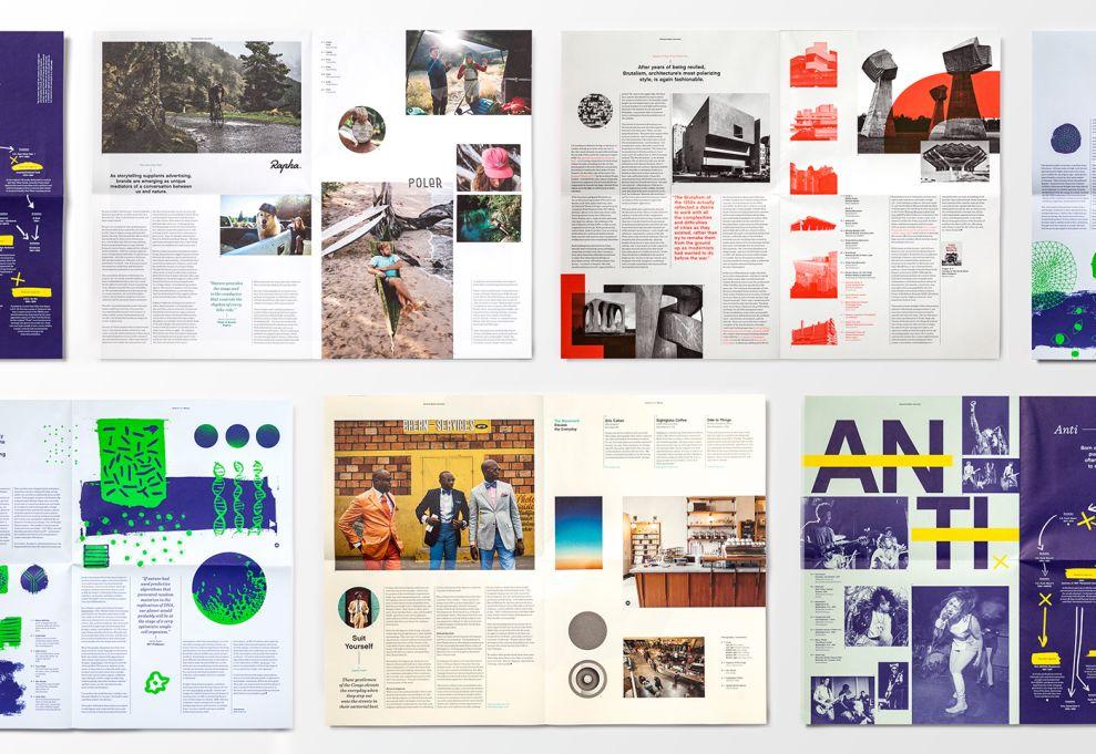 Mohawk Maker Quarterly Print Design