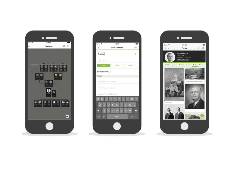 FamilySearch - Tree Clean App Design