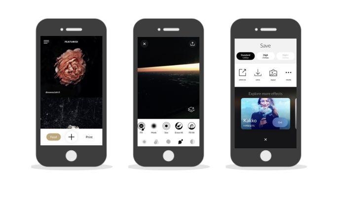 Trigraphy Elegant App Design