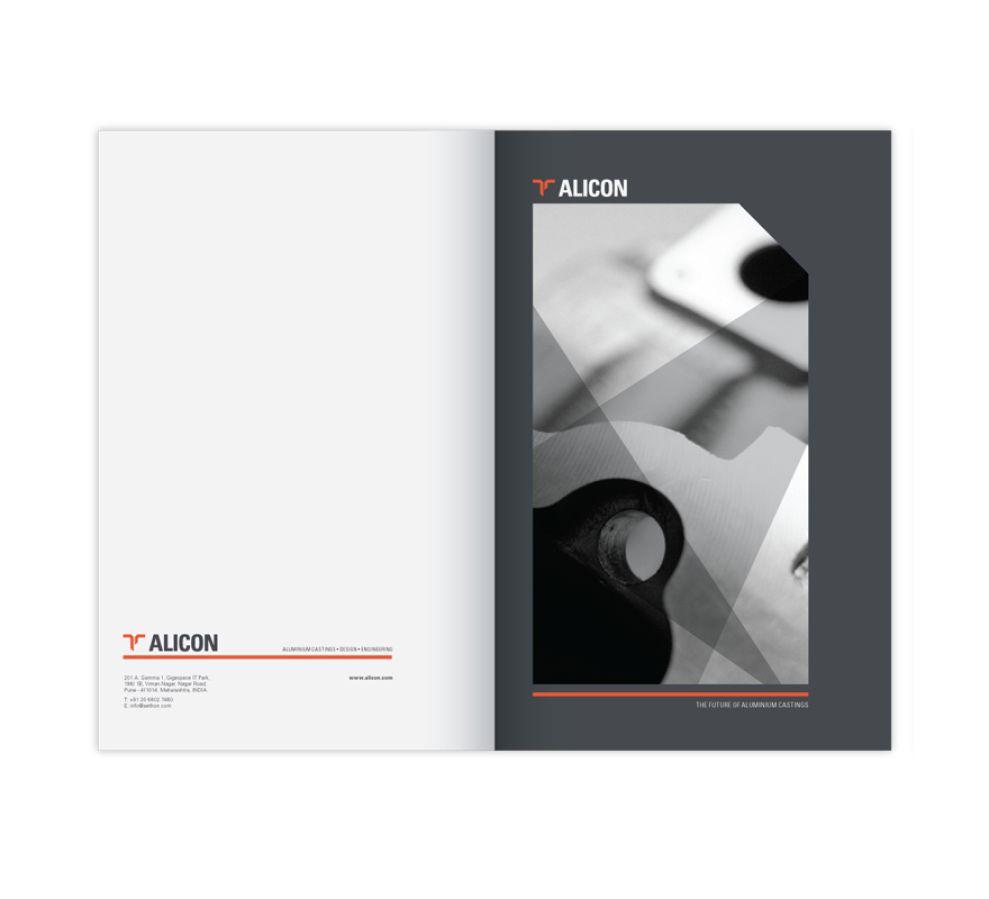 Alicon-Enkei Alloys Corporate Print Design