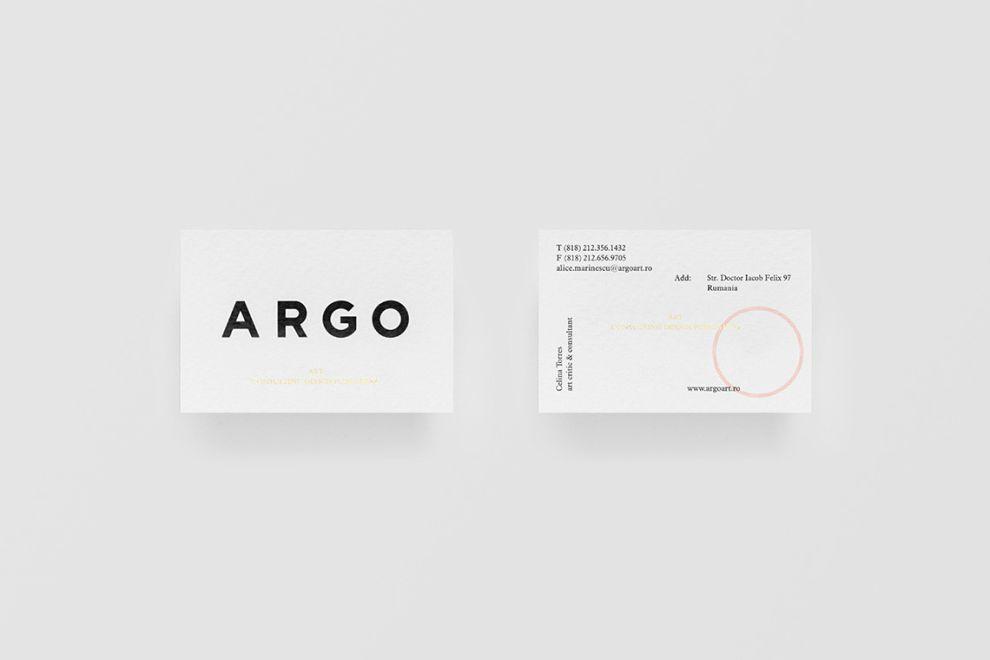 Argo Clean Print Design