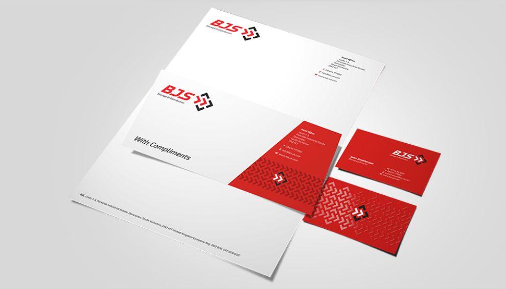 BJS Storage and Distribution Clean Print Design