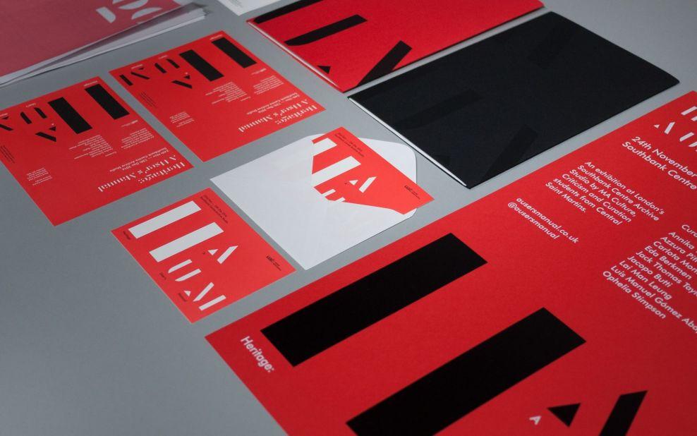 Heritage: A User's Manual Modern Print Design