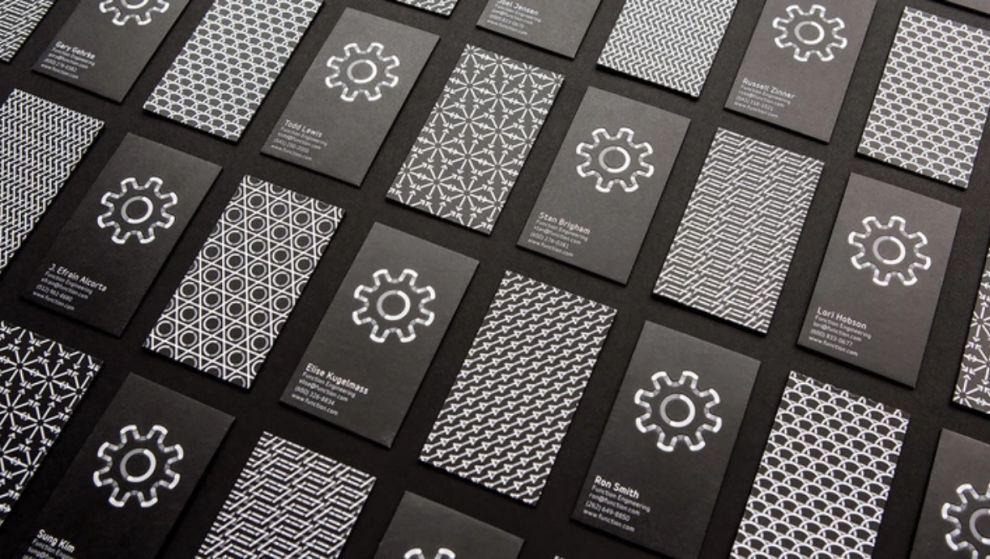 Function Engineering Dark Print Design