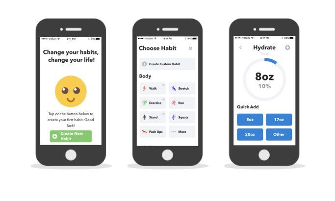 HabitMinder Creative App Design