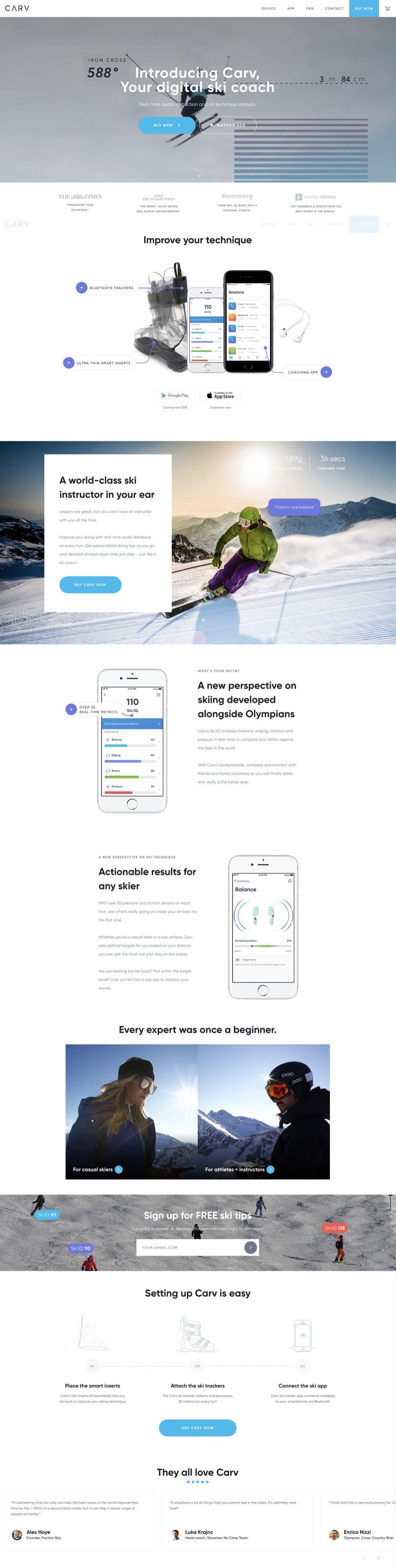 Carv Best Website Design