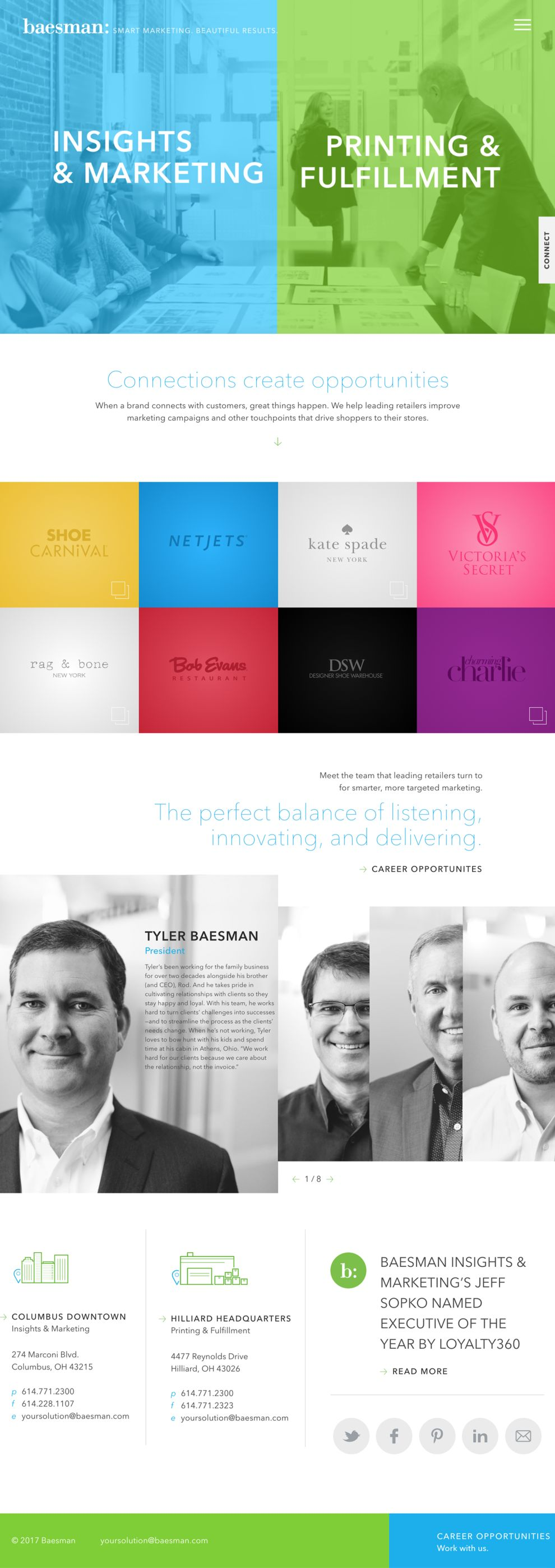Baesman Professional Homepage