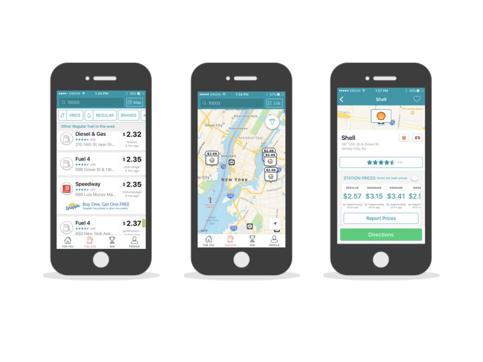 GasBuddy User-Friendly App Design