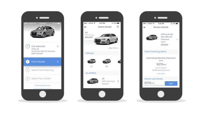 AutoGravity Minimal App Design