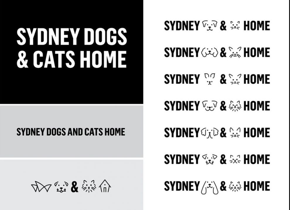 Sydney Dogs and Cats Home Great Logo Design