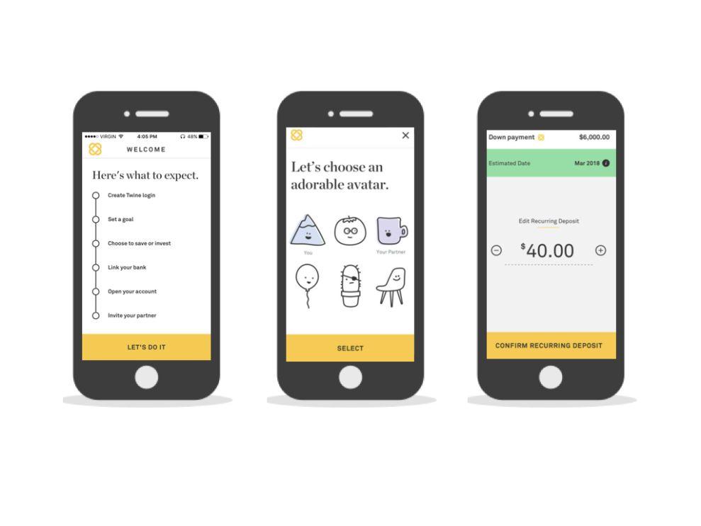 Twine Minimal App Design