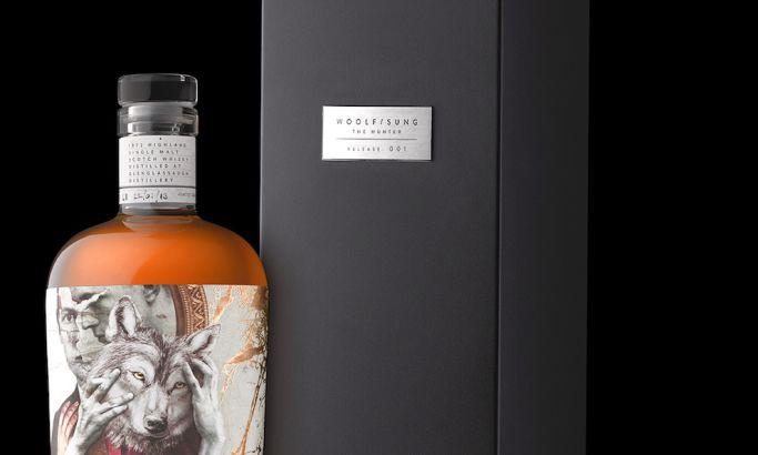 Woolf Sung Scotch Whisky Stunning Package Design