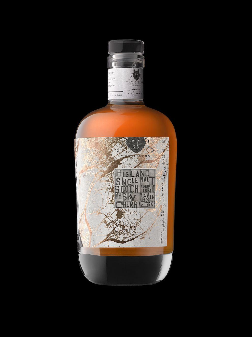 Woolf Sung Scotch Whisky Label Design