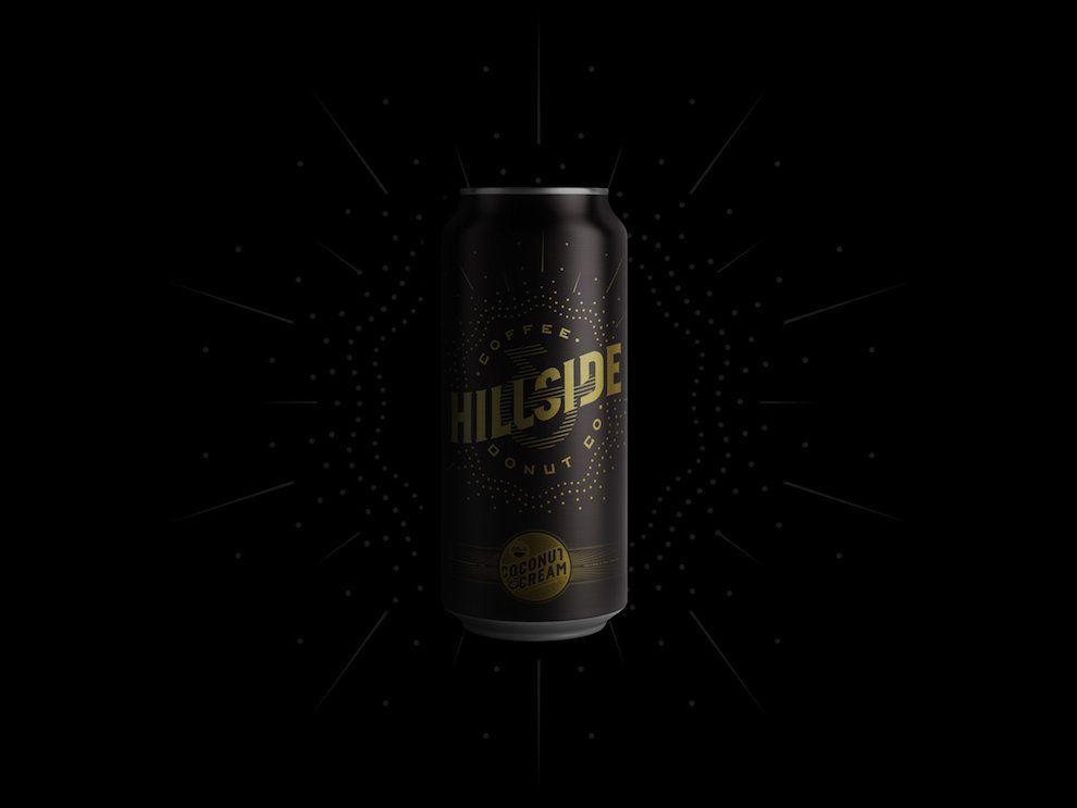 Hillside Coffee Creative Package Design