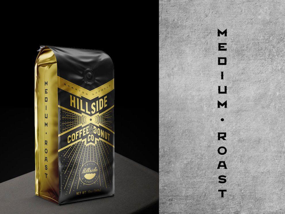Hillside Coffee Package Design