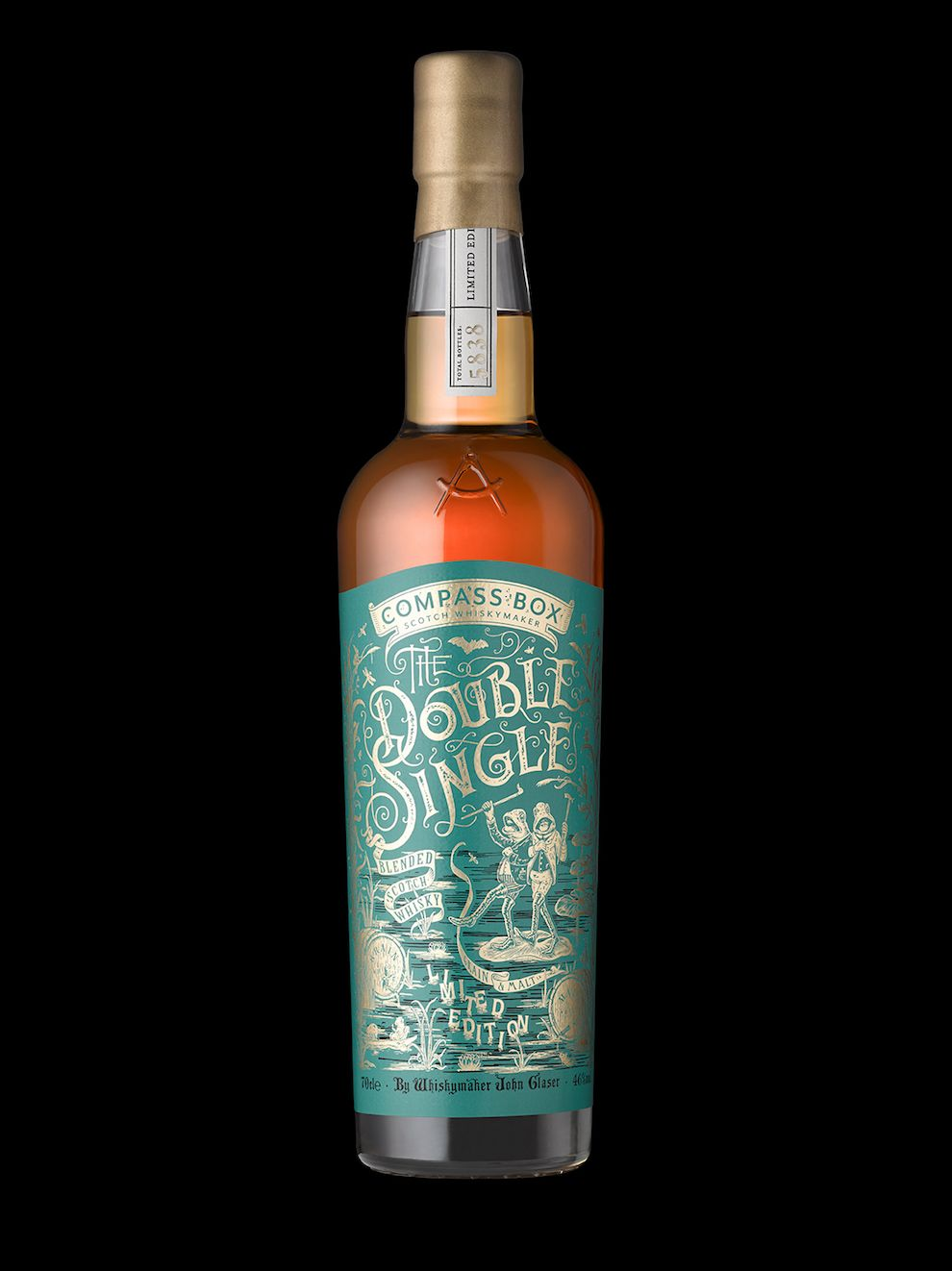 Compass Box -- The Double Single Package Design