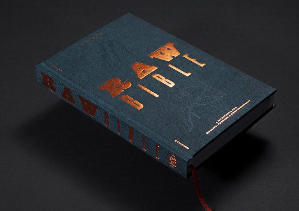 Raw Bible Exciting Print Design