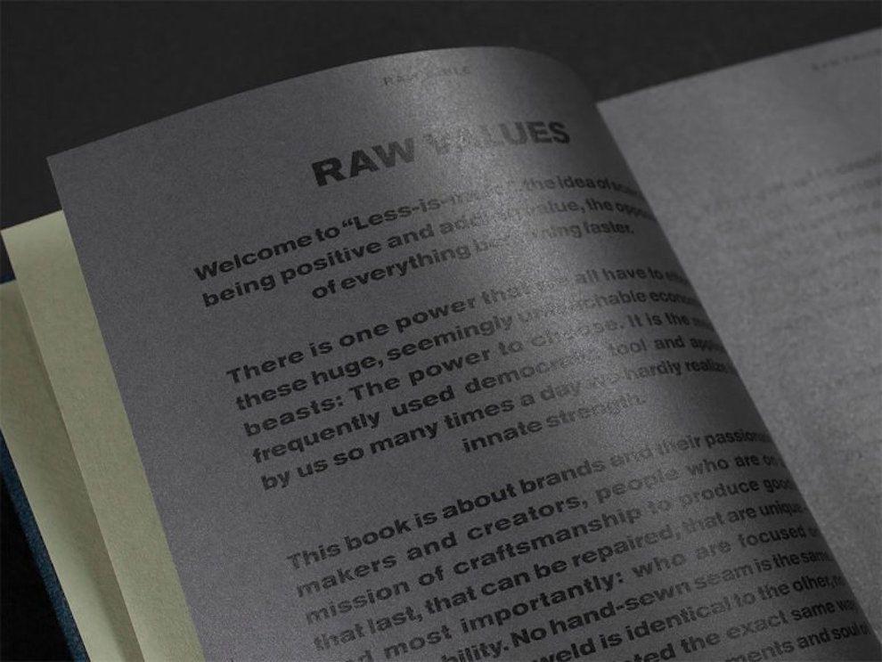 Raw Bible Clean Print Design