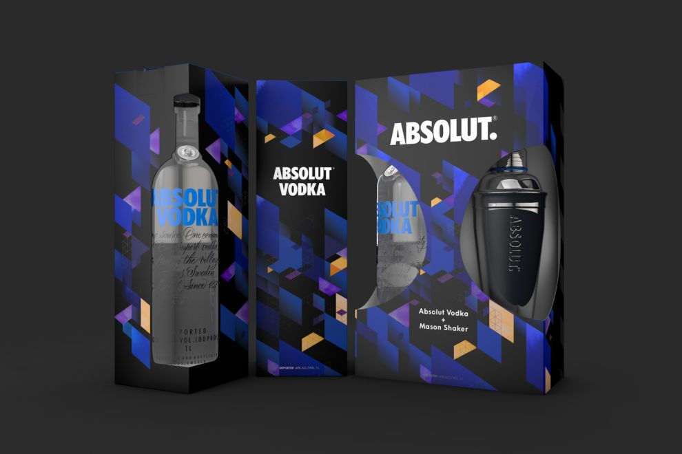 Absolut Vodka Awesome Package Design