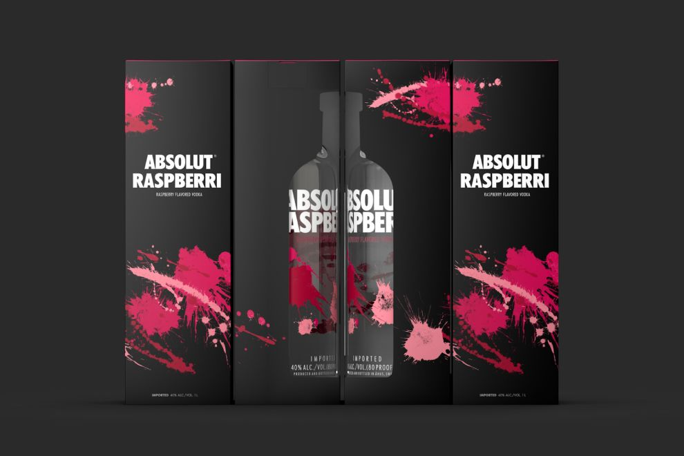 Absolut Vodka Clean Package Design