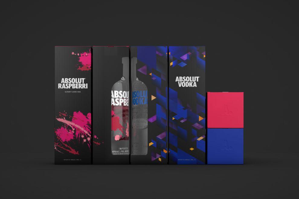 Absolut Vodka Package Design