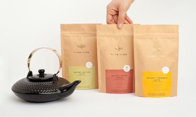 Glow Flow Chefs Sleek Package Design