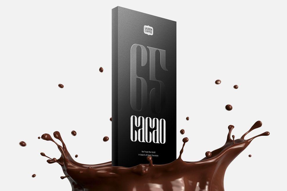 Lauren Coffee Simple Chocolate Package Design