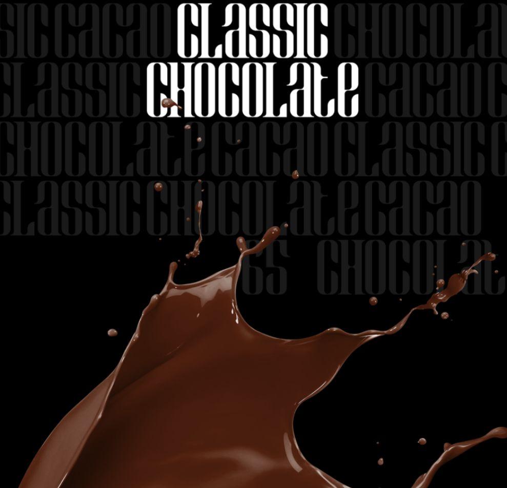 Lauren Coffee Dark Chocolate Package Design