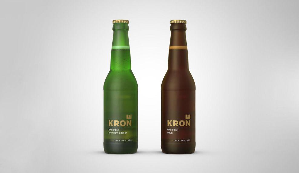Krone Beer Simple Package Design
