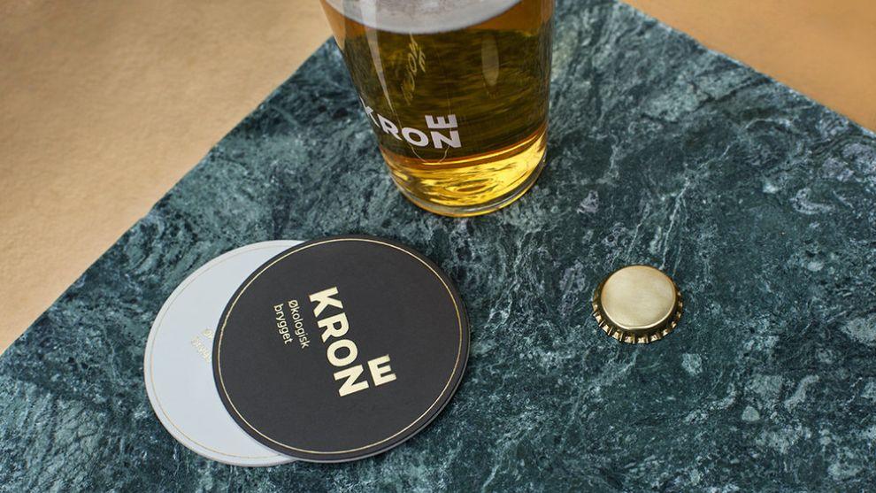 Krone Beer Clean Package Design