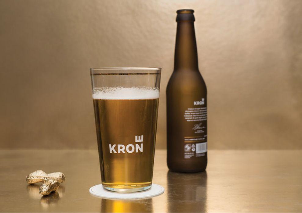 Krone Beer Package Design