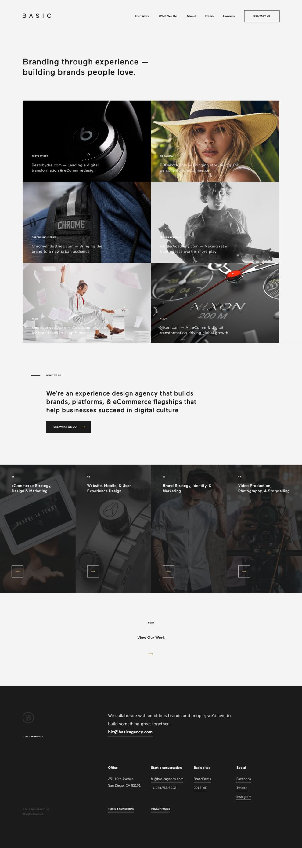 Basic Agency Professional Homepage