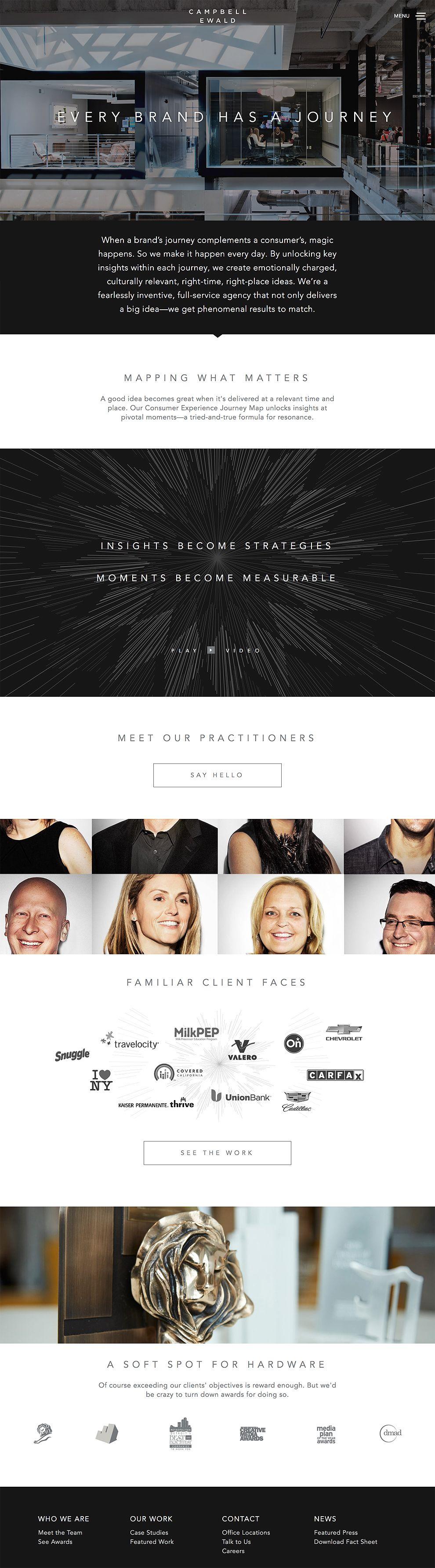 Campbell Ewald Top Website Design