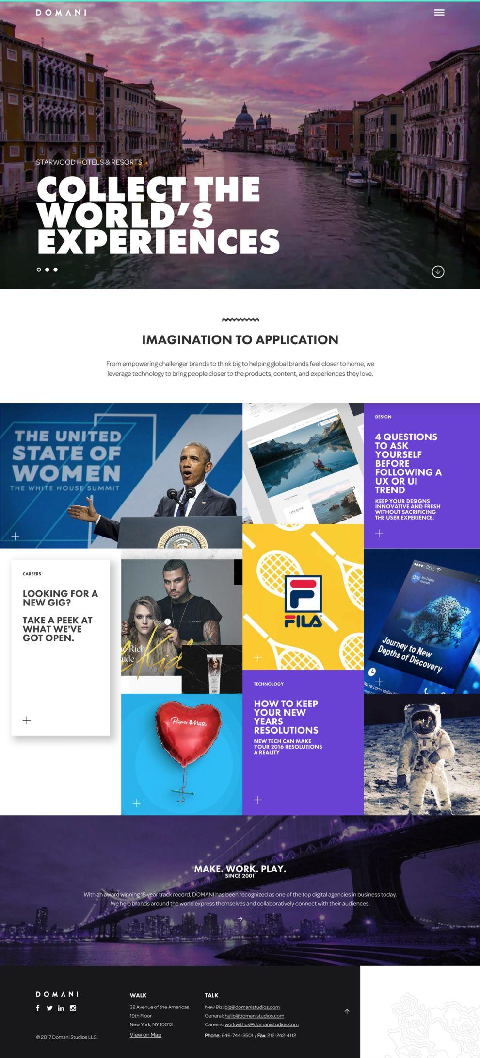 Domani Beautiful Website Design