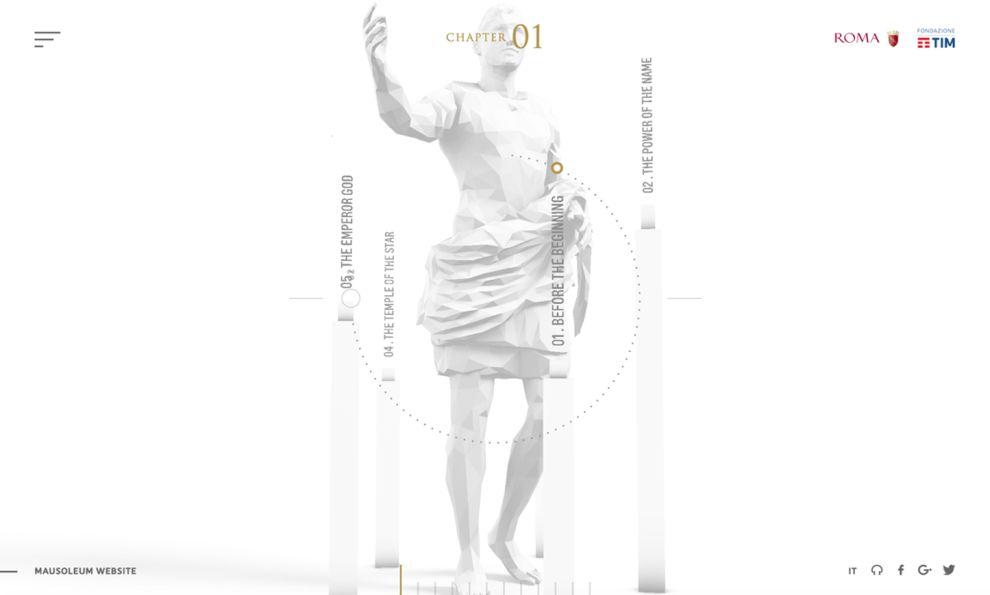 Mausoleum of Augustus Awesome Website Design