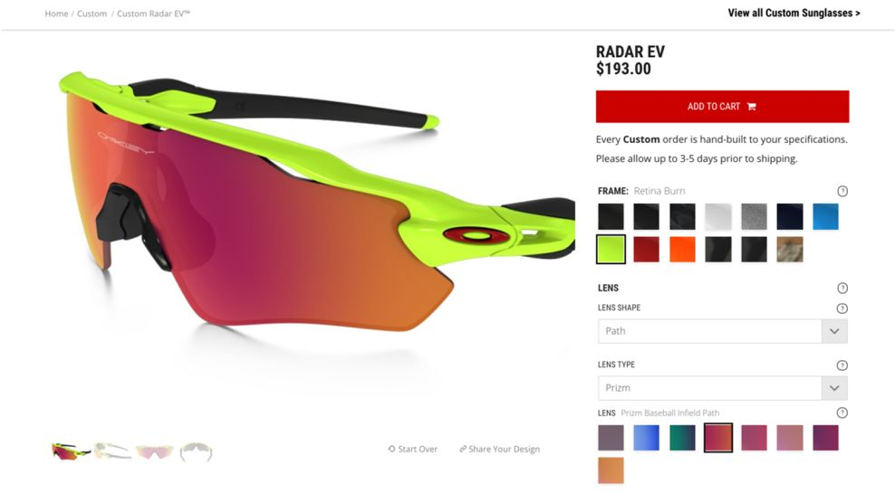 Oakley Awesome Product Page