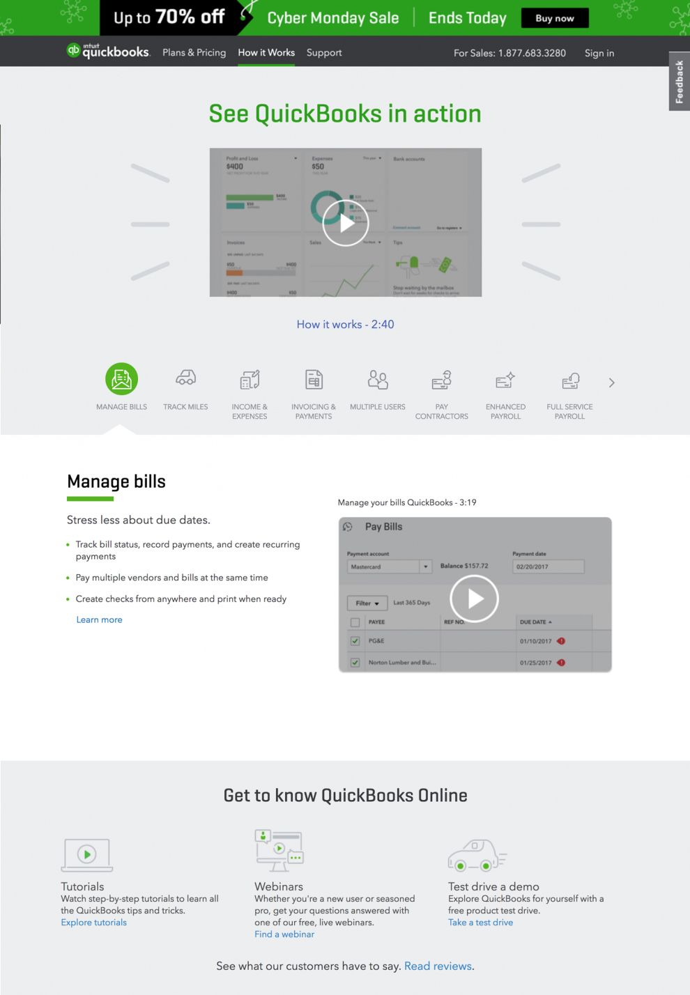 Quickbooks Clean About Page