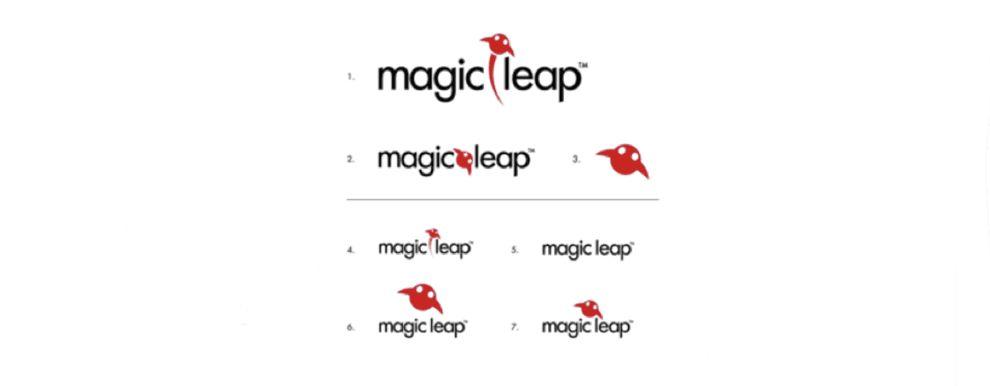 Magic Leap Logo Design Evolution
