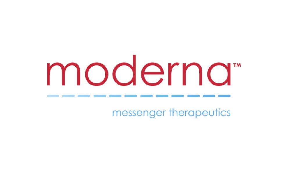 Moderna Messenger Therapeutics Typography Logo Design