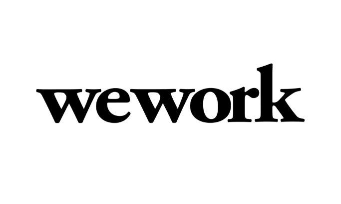 WeWork Typographic Logo Design