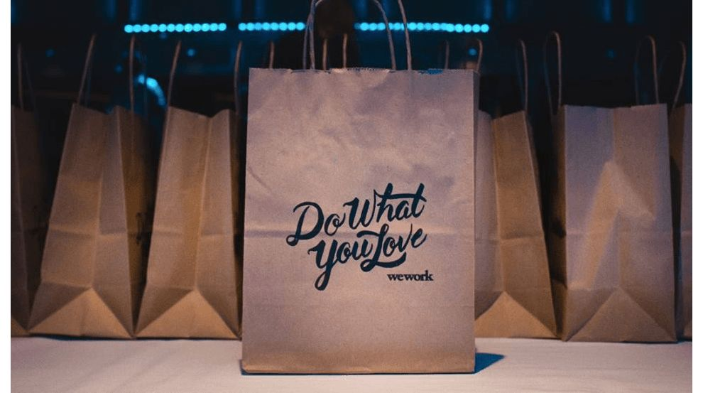 WeWork Logo Typography