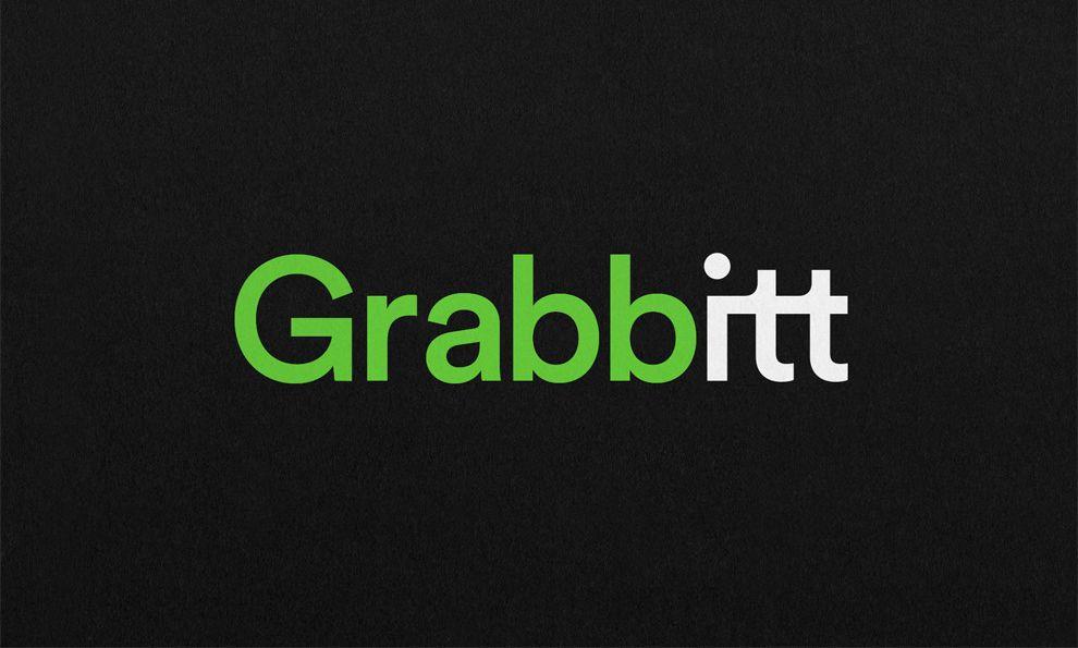 Grabbitt Typography Logo Design