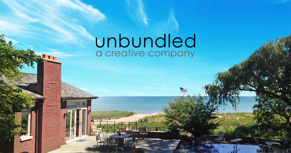 Unbundled Clean Logo Design