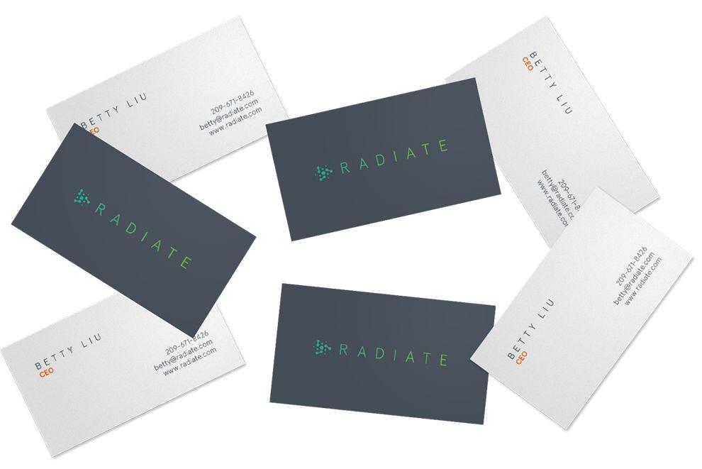 Radiate Inc Modern Branding Design