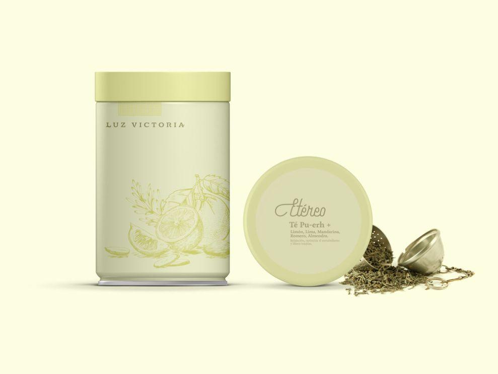 Luz Victoria Clean Package Design