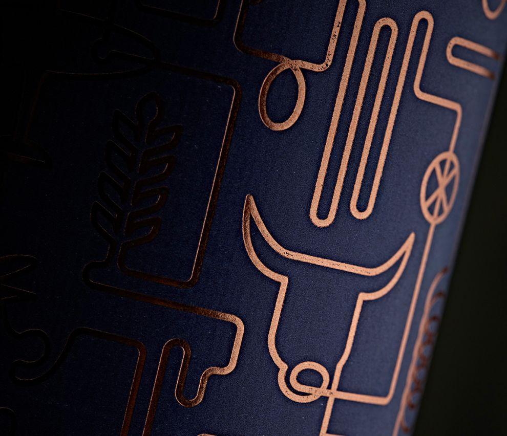 Wood Brothers Vodka Elegant Package Design