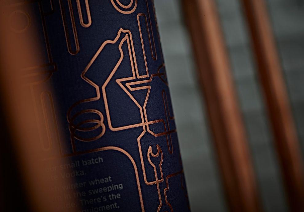 Wood Brothers Vodka Package Design
