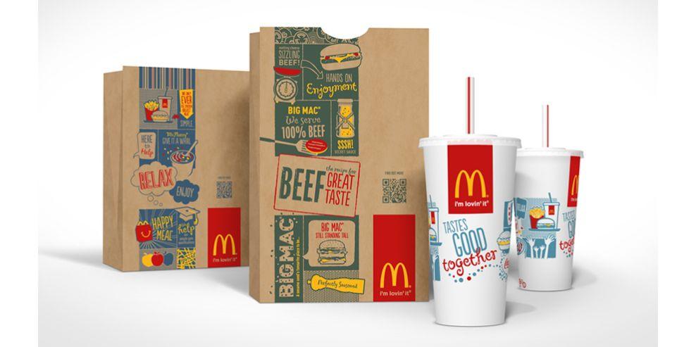 McDonald's Logo Packaging