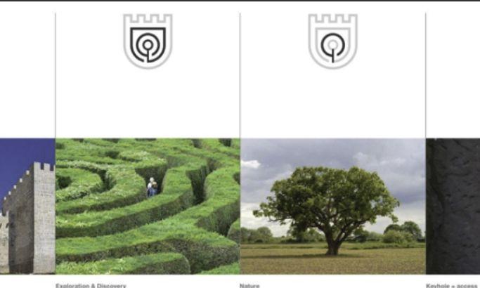 Ombria Castle Symbol Design